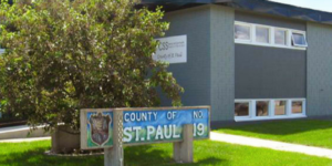 County of St. Paul sign